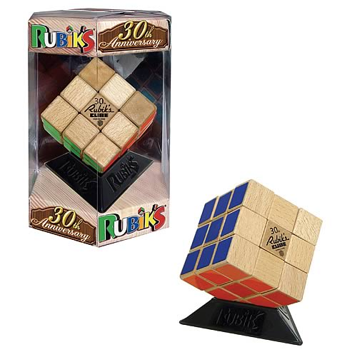 Rubik's Cube 30th Anniversary Wooden Edition Game
