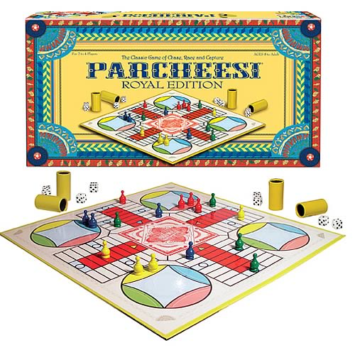 Parcheesi Royal Edition Game