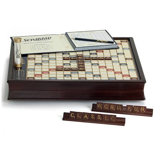 Scrabble Deluxe Board Game - Winning Solutions - Scrabble - Games at ...