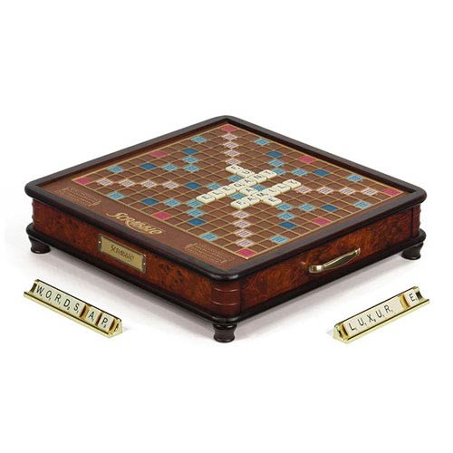 Scrabble Classic Version Luxury Edition Board Game