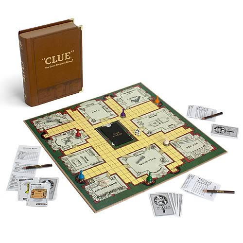 Clue Library Classic Board Game