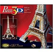 Puzz 3D Eiffel Tower 3-D Puzzle