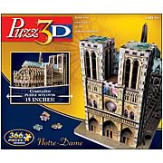 Puzz 3D Notre Dame Cathedral 3-D Puzzle
