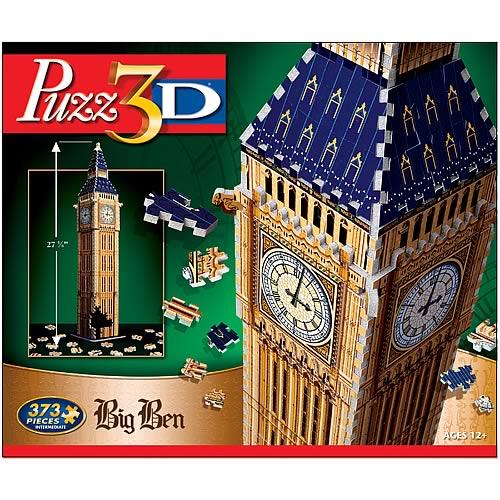 Puzz 3-D Big Ben 3-D Puzzle