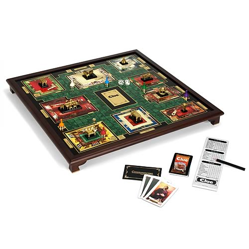 Giant Clue Deluxe Board Game