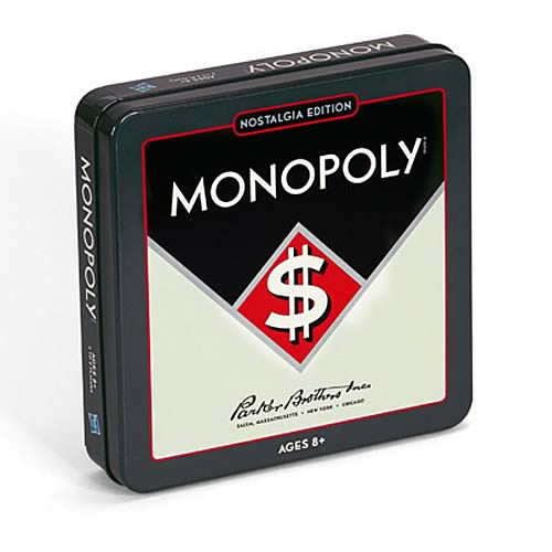 Monopoly Nostalgia Tin Board Game
