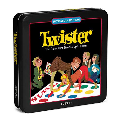 Twister Nostalgia Tin Board Game