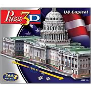 Puzz 3D US Capitol Building 3-D Puzzle