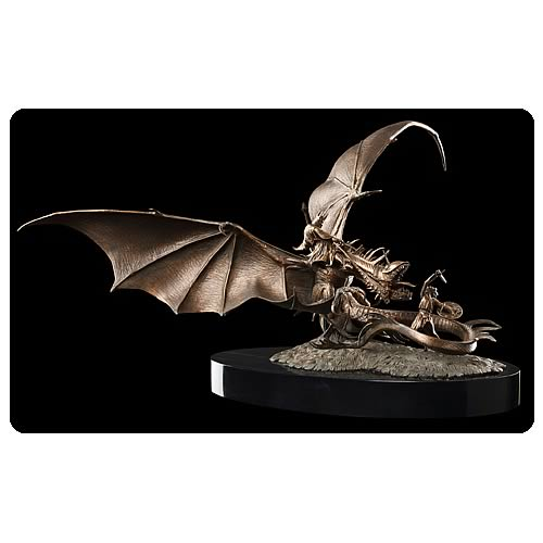Lord of the Rings Eowyn and the Nazgul Statue