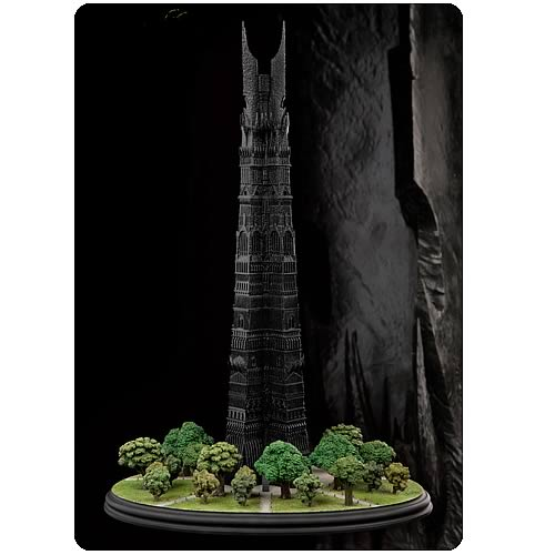 Lord of the Rings Orthanc, Black Tower of Isengard Statue