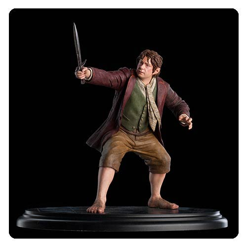 The Hobbit An Unexpected Journey Bilbo Baggins 1:6 Statue