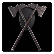The Hobbit An Unexpected Journey Dwalin's Axes Prop Replicas