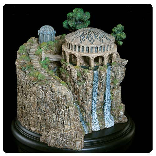 The Hobbit Unexpected Journey White Council Chamber Statue