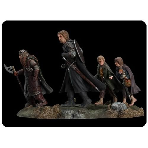 Lord of the Rings The Fellowship of the Ring Set 2 Statue