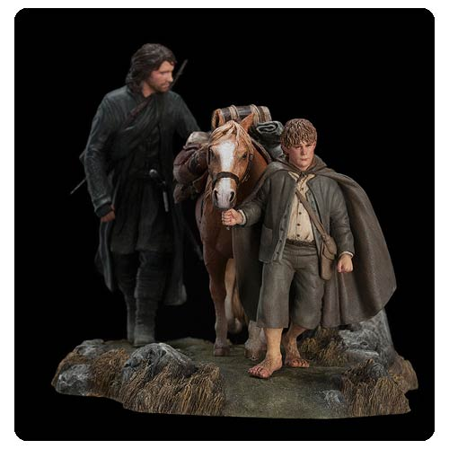 Lord of the Rings The Fellowship of the Ring Set 3 Statue