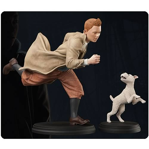 Adventures of Tintin Tintin and Snowy Statue