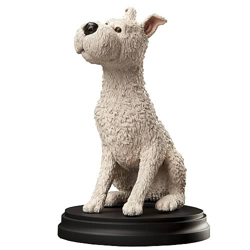 Adventures of Tintin Snowy Statue