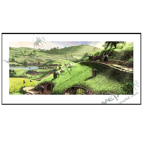 Lord of the Rings Disturber of the Peace Fine Art Print
