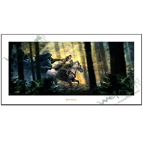 Lord of the Rings Fight to the Ford Fine Art Print