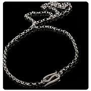 Lord of the Rings Frodo Baggins Sterling Silver Necklace
