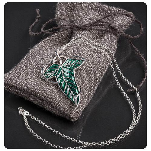 The Lord of the Rings Elven Leaf Brooch