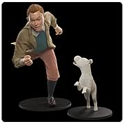 Adventures of Tintin Tintin and Snowy Life-Size Statues