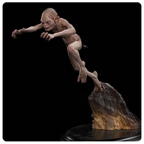 The Hobbit An Unexpected Journey Gollum Enraged Statue