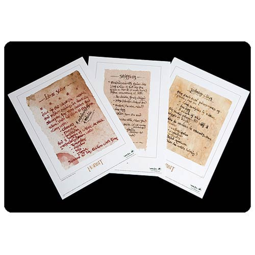 The Hobbit An Unexpected Journey Recipes from Bag End Prints
