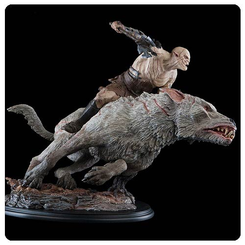 The Hobbit An Unexpected Journey Azog on Warg 1:6 Statue