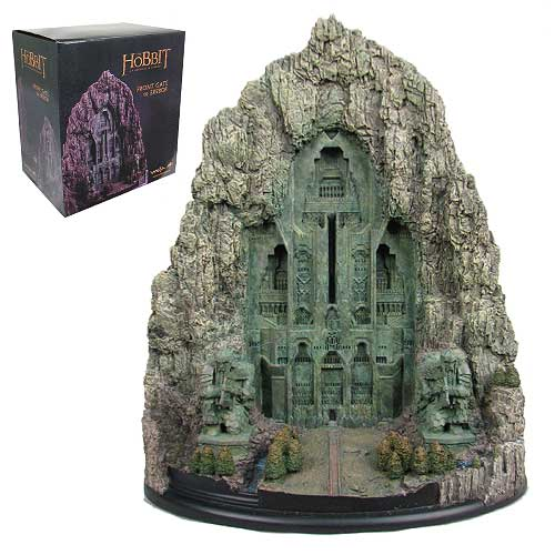 The Hobbit An Unexpected Journey Front Gate to Erebor Statue