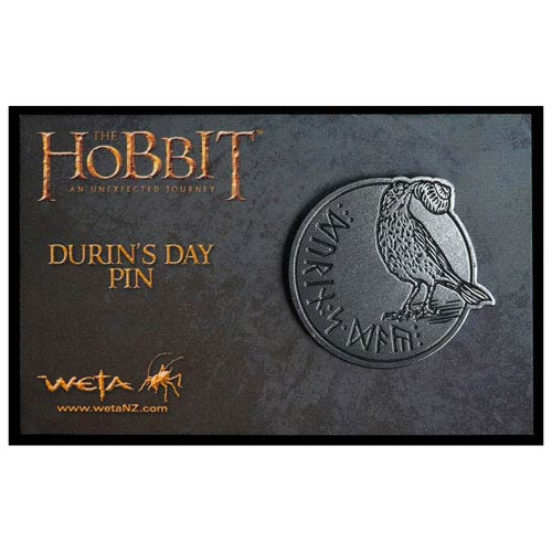 The Hobbit An Unexpected Journey Durin's Day Pin