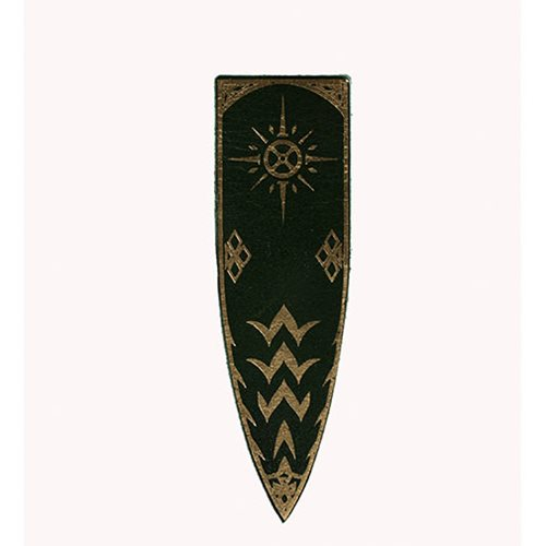The_Lord_of_the_Rings_Sunburst_Rohan_Banner_Leather_Magnet