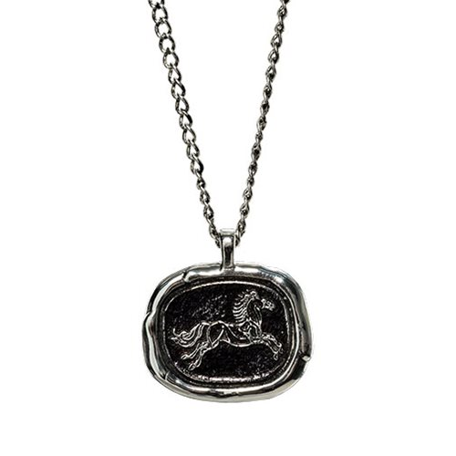 The Lord of the Rings Rohan Wax Seal Necklace