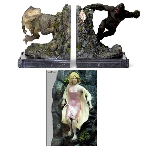 King Kong: Kong & V-Rex Bookends