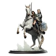 The Lord of the Rings Arwen and Frodo on Asfaloth Statue