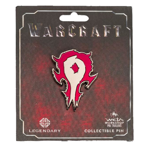 World of Warcraft Horde Icon Collector's Pin - WETA ...