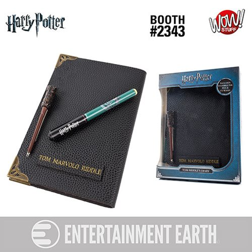 HP Tom Riddle's Diary and Invisible Wand Pen, Not Mint