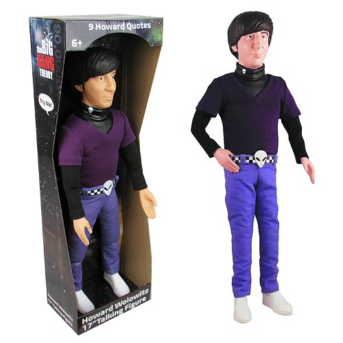 Big Bang Theory Howard Wolowitz 17-Inch Talking Figure
