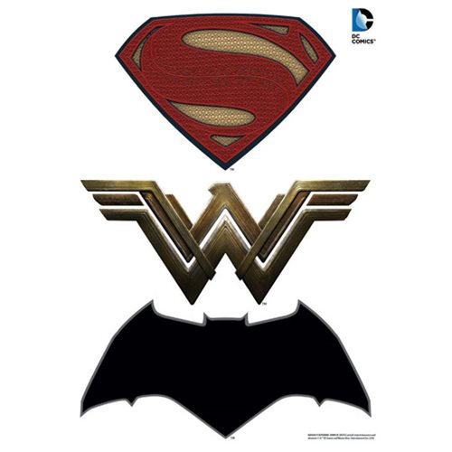 Batman V Superman Dawn Of Justice Logos Car Graphics Set