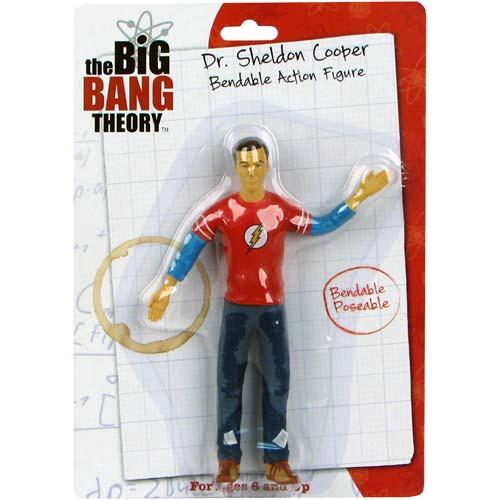 Big Bang Theory Sheldon Cooper 6-Inch Bendable Figure