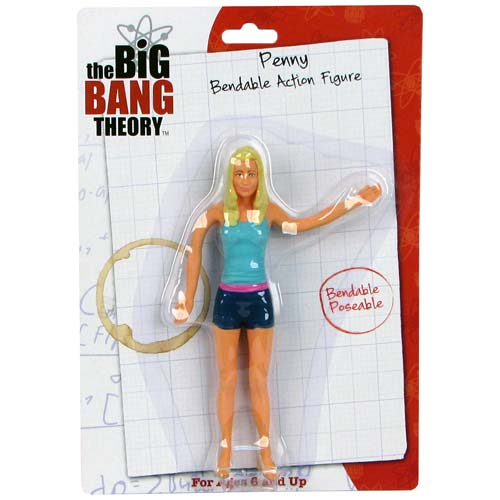 Big Bang Theory Penny 6-Inch Bendable Figure