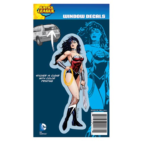 Justice League New 52 Wonder Woman Full Color Decal