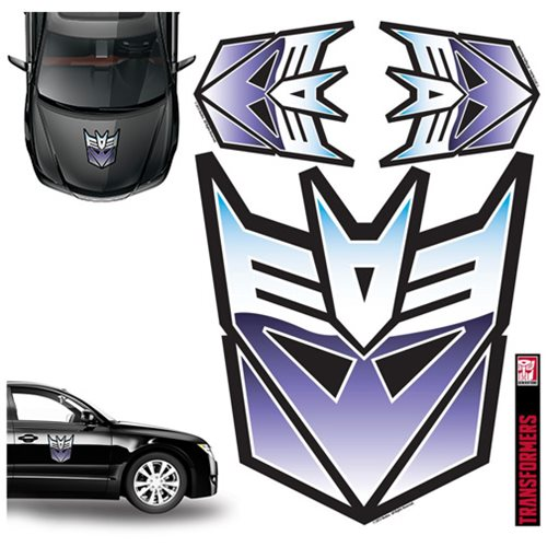Transformers Decepticon Full Color Car Graphics Decal Set ...