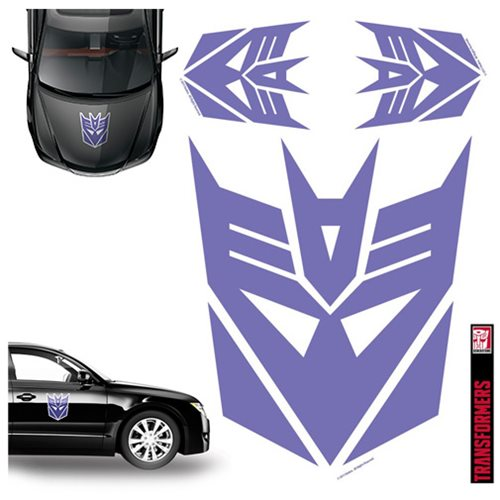 Transformers Decepticon Purple Car Graphics Set - Elephant ...