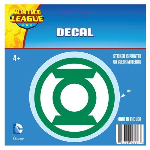Green Lantern Classic Logo Decal