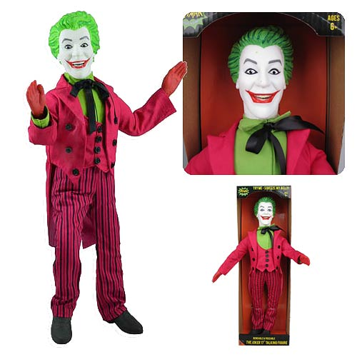 Batman 1966 TV Series The Joker 17-Inch Talking Figure