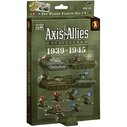 Axis & Allies Miniatures Set 6 1939-1945 Starters