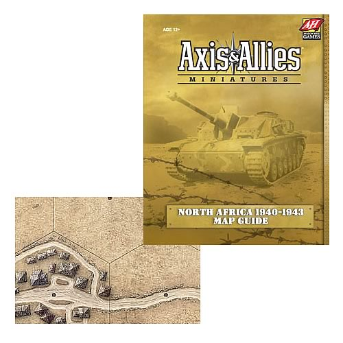 Axis & Allies Miniatures North Africa Map Guide