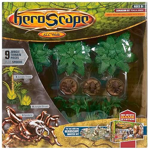 Heroscape Ticalla Jungle Large Expansion