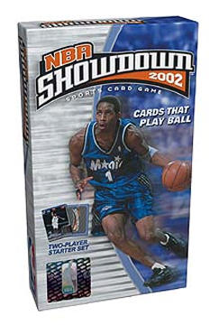 NBA 2002 Starter Deck Display